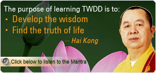 Purpose of learning TWDD