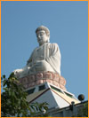 16 metre tall Buddha Statue at White Tower Temple